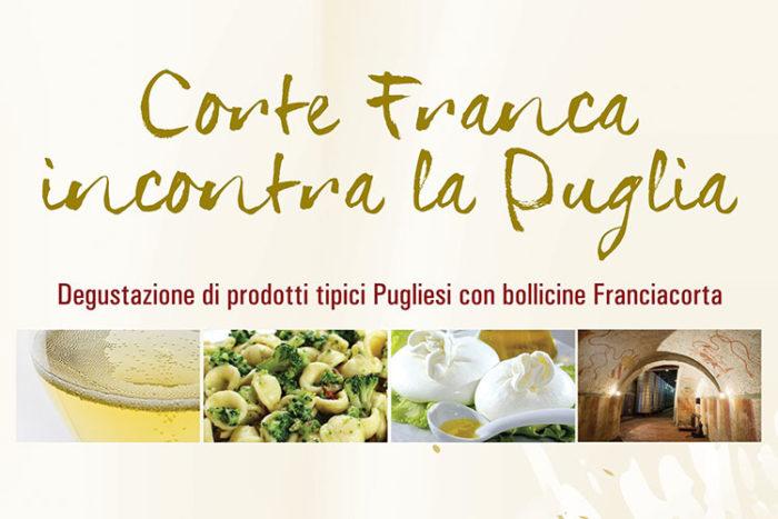 Corte Franca incontra la Puglia