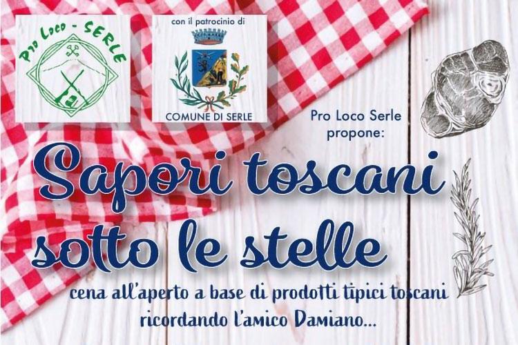 Sapori Toscani sotto le Stelle a Serle