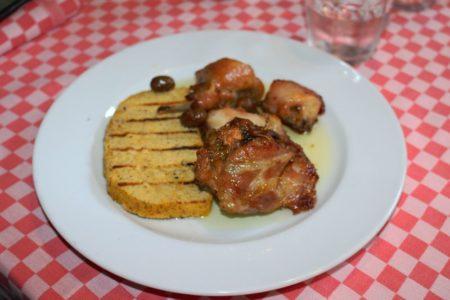 Coniglio al forno - Trattoria Mezzeria - Brescia centro