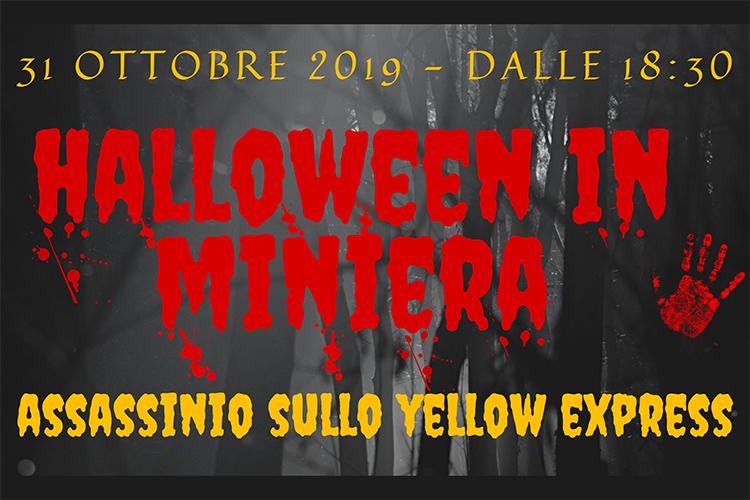 Halloween in miniera a Pezzaze