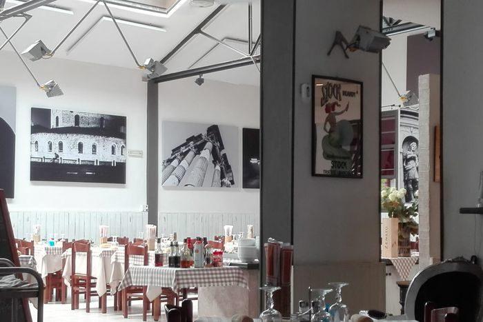 Interno Trattoria Vantini - Brescia
