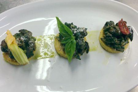 Lumache con polenta - Agriturismo Colombarino