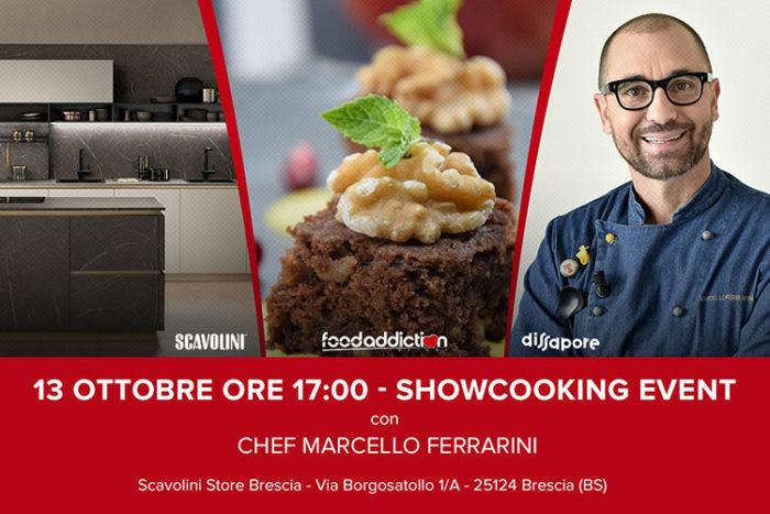 Showcooking con Marcello Ferrarini a Borgosatollo