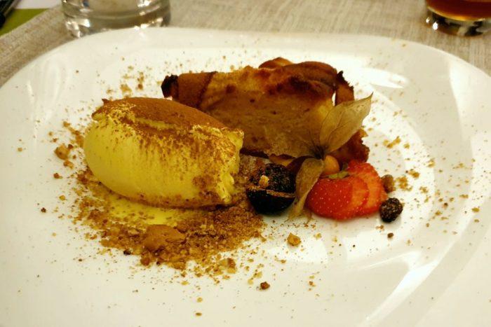 Torta di Mele con gelato - Osteria Vecchia Bottega - Sarezzo