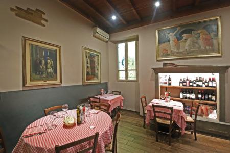 Trattoria La Mezzeria Brescia - Sala