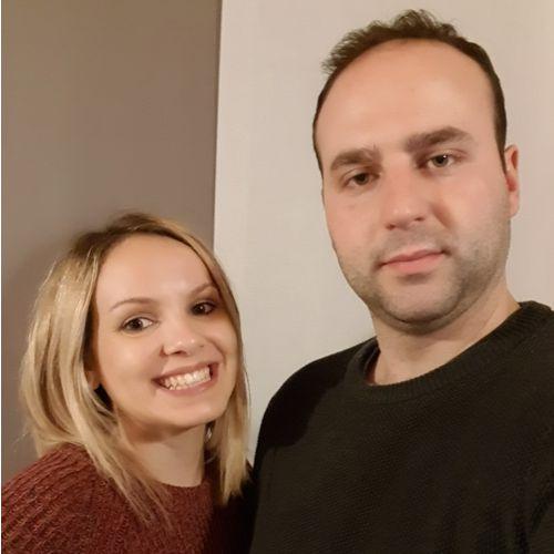 Jessica Cario e Andrea Tebaldini