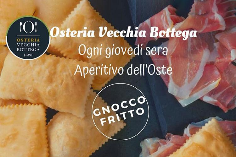 Serata Gnocco Fritto - Osteria Vecchia Bottega