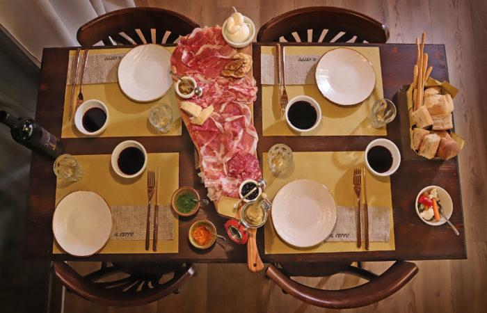 Il Ceppo Affetteria Roncadelle Brescia Tavolo
