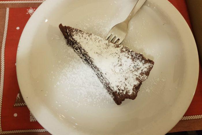 Torta al cioccolato - Trattoria Il Melograno - Brescia