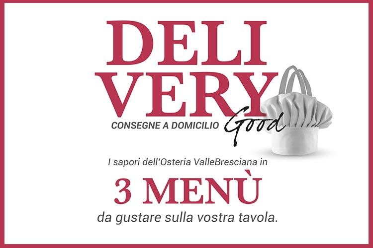 Consegne a domicilio - Osteria Valle Bresciana