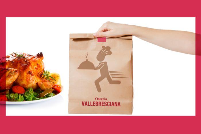 Osteria Valle Bresciana - Consegna a domicilio