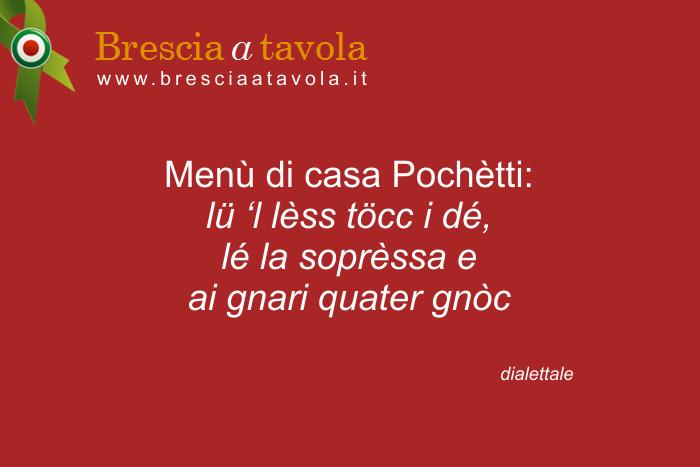 Proverbi dialettali bresciani