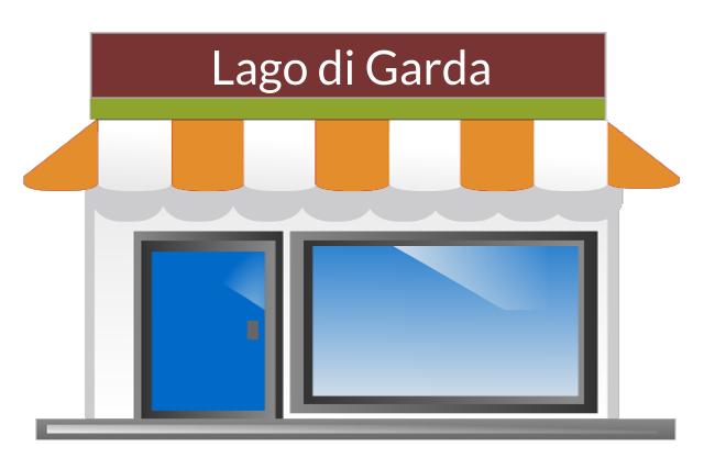 Consegna a domicilio Cibo e Bevande - Lago di Garda