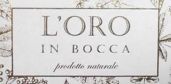 L'Oro in Bocca Palazzolo (marchio) _Rid 350