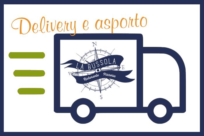 Asporto e Delivery Ristorane La Bussola - Brescia