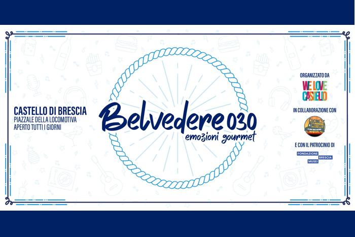 Belvedere 030 - l'angolo Street Food al Castello di Brescia
