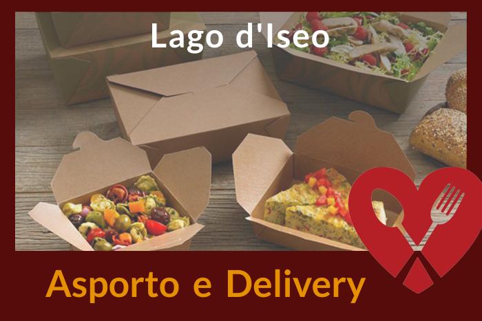 Asporto e Delivery Lago d'Iseo