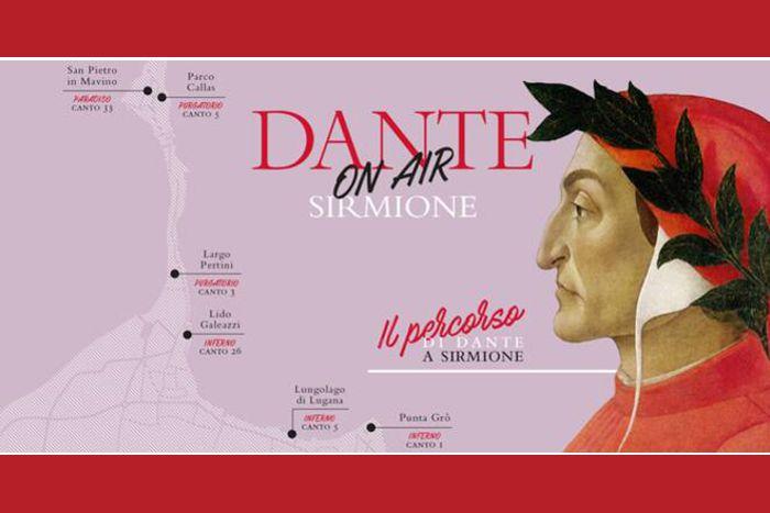 Il percorso di Dante a Sirmione